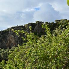 ο βράχος Castelli